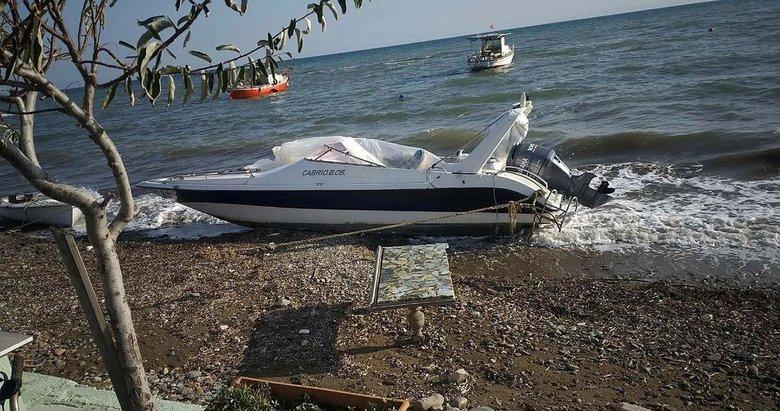 İzmir'de yurt dışına gitmek için sürat teknesi çaldılar
