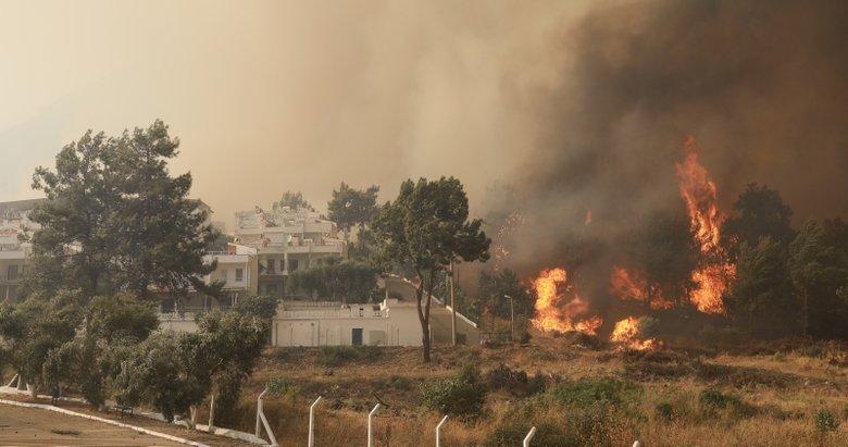 Milas'ta alevler termik santrale yaklaştı!