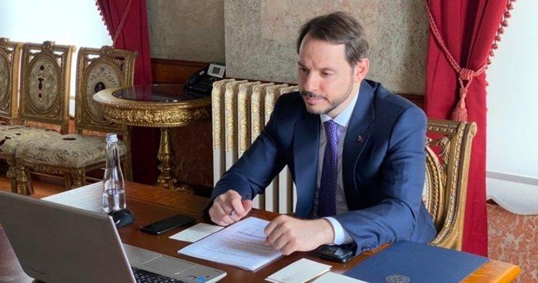 Hazine ve Maliye Bakanı Berat Albayrak'tan FİKKO toplantısı