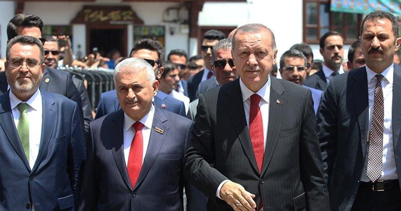 Başkan Erdoğan'dan tarihi mesajlar