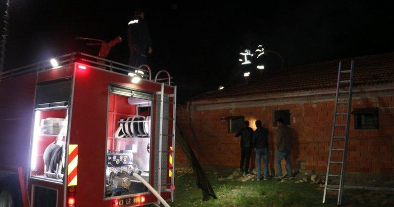 Afyonkarahisar'da korkutan yangın