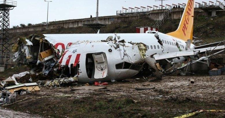 Son dakika: Sabiha Gökçen'de kaza yapan Pegasus pilotu tutuklandı