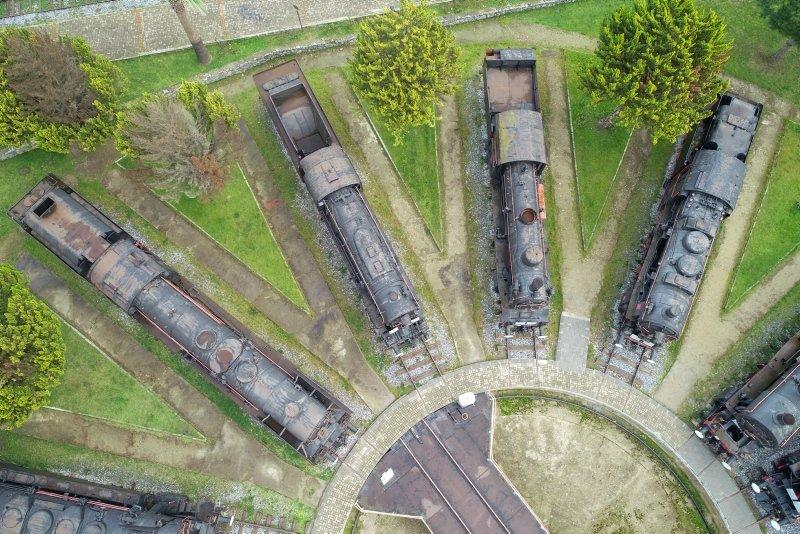 İzmir'deki Çamlık Buharlı Lokomotif Müzesi'ne yoğun ilgi