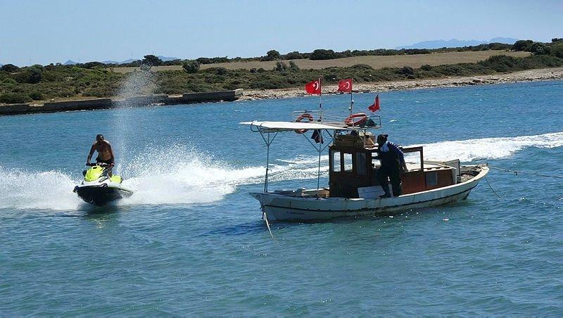 Aydın'da ATV ve at safarili nefes kesen bir sezon açılışı yapıldı