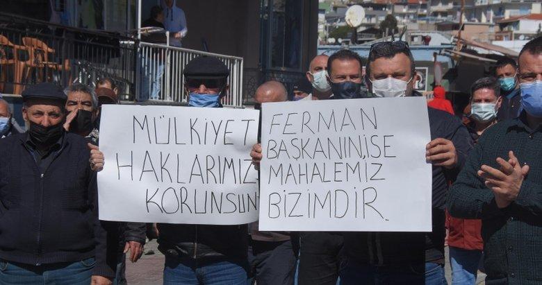 İzmir'de mahalleli, CHP'li belediyenin kentsel dönüşüm imar planına tepkili