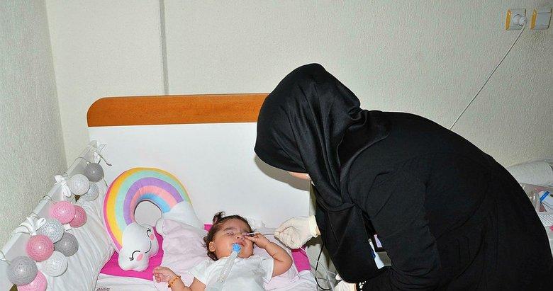 SMA hastası Rümeysa bebek için süre daralıyor