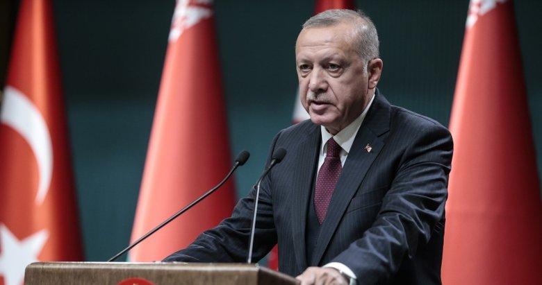 Başkan Erdoğan yeni hedefi açıkladı