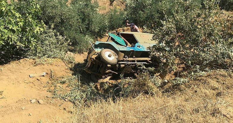 Aydın'da tarım işçilerini taşıyan araç uçuruma yuvarlandı