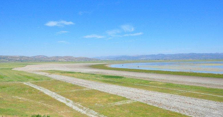 Manisa'da göl arazisinde usulsüz tarıma milyonluk ceza