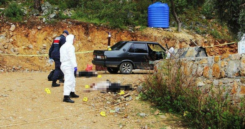 Baba ve oğluna 15 kurşun! Muğla'da korkunç infaz