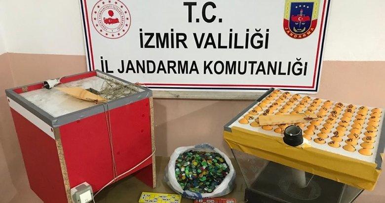 İzmir'de kumar operasyonu: 59 kişiye 267 bin 349 lira ceza kesildi
