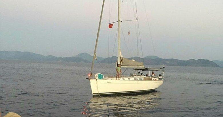 Makine arızası yapan tekne kurtarıldı