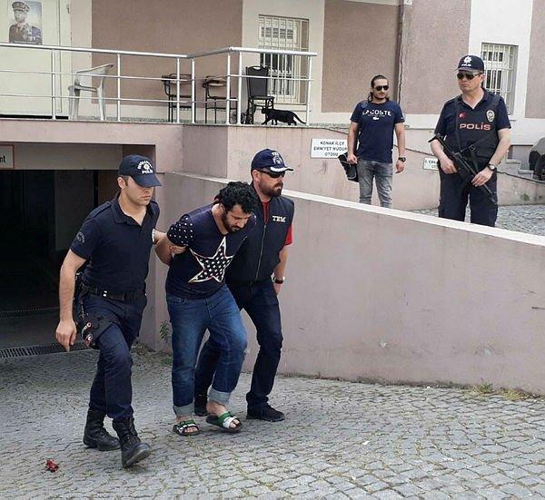 İzmir'de yakalanan sözde komutan adliyede