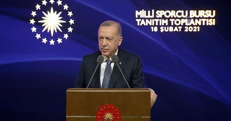 Son dakika: Başkan Erdoğan'dan Milli Sporcu Bursu Tanıtım Toplantısı'nda önemli açıklamalar