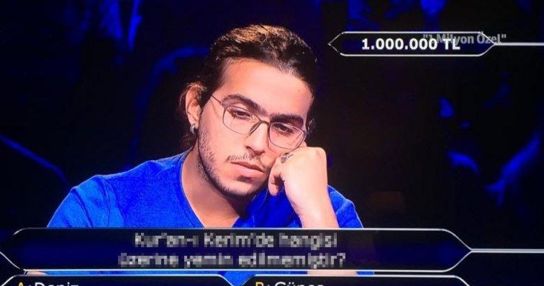 Kim Milyoner Olmak İster yarışmasının 1 milyonluk final soruları
