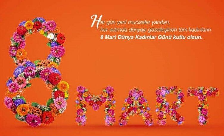Kadınlar Günü mesajları! En güzel resimli kadınlar günü mesajları...