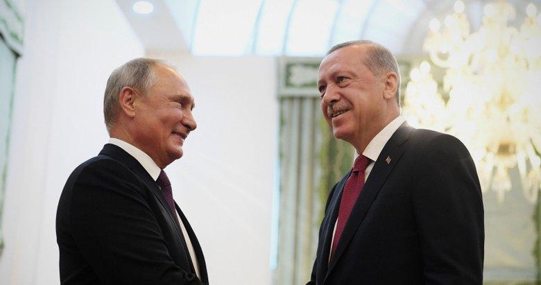 Erdoğan ile Putin Üçlü Zirve öncesi bir araya geldi