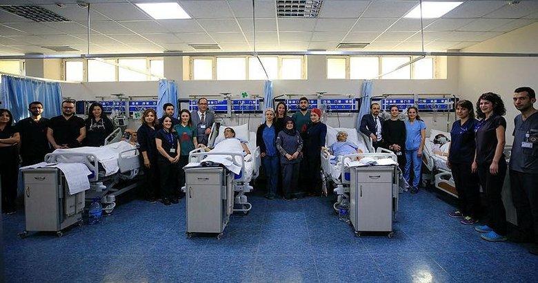 İzmir Ege Üniversitesi'nde bir günde 4 karaciğer nakli