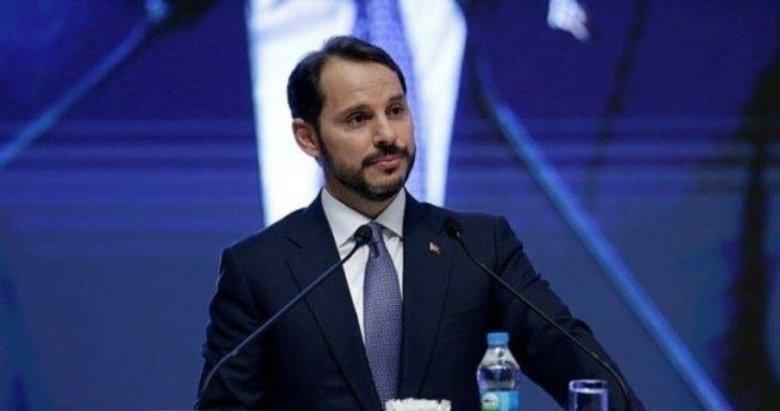 Hazine ve Maliye Bakanı Berat Albayrak'tan şehit polisler için başsağlığı mesajı