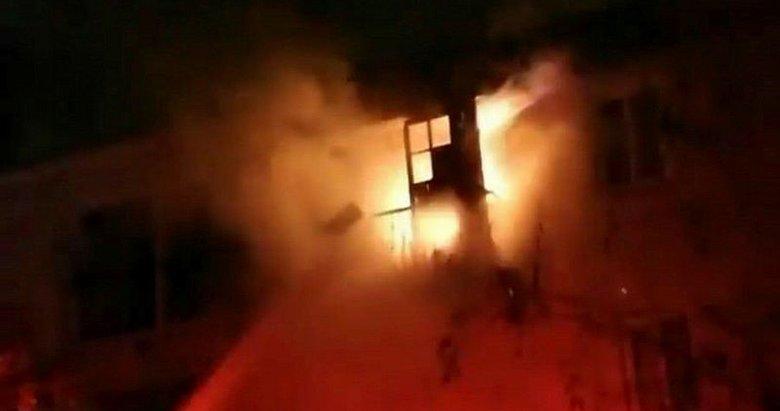 İzmir Çeşme'de korkutan yangın