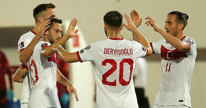 A Milliler Cebelitarık'ı 3 golle geçti