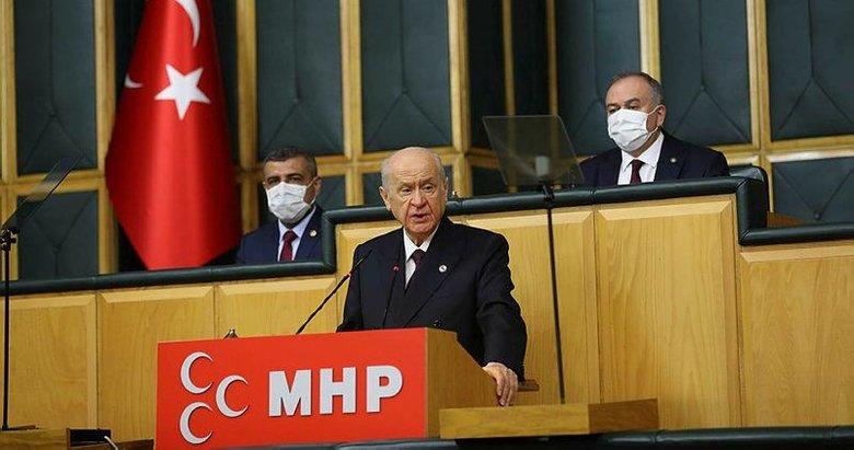 MHP lideri Devlet Bahçeli'den grup toplantısında önemli açıklamalar
