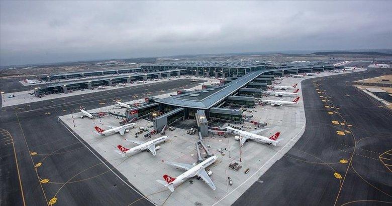 İstanbul Havalimanı yolcu sayısında Avrupa'da birinci oldu