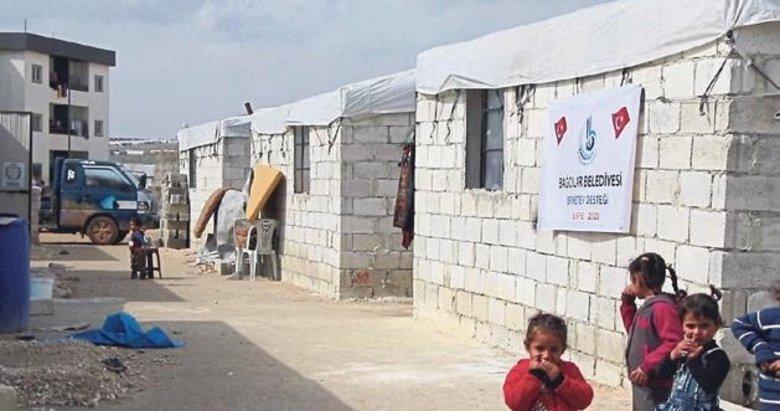 İdlib'de 450 hanelik Bağcılar Mahallesi
