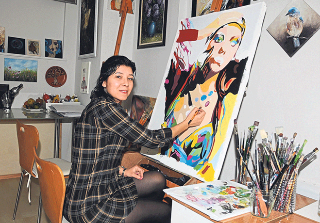 Sanat her evde