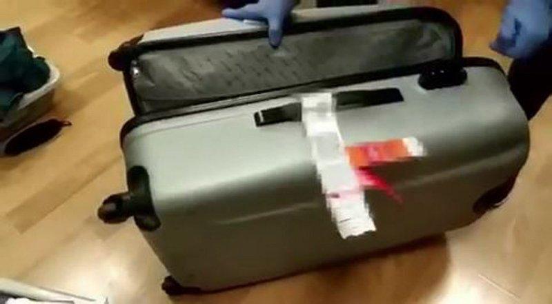 Brezilyalı kokain kuryesi yakalandı