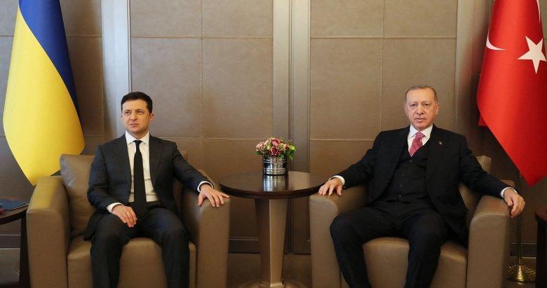 Başkan Erdoğan ile Ukrayna Devlet Başkanı Zelenskiy'den ortak basın toplantısı