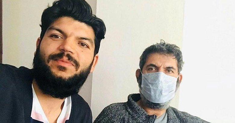 Özel izinle yanında kaldı! 17 gün refakat ettiği babası koronavirüsü yendi