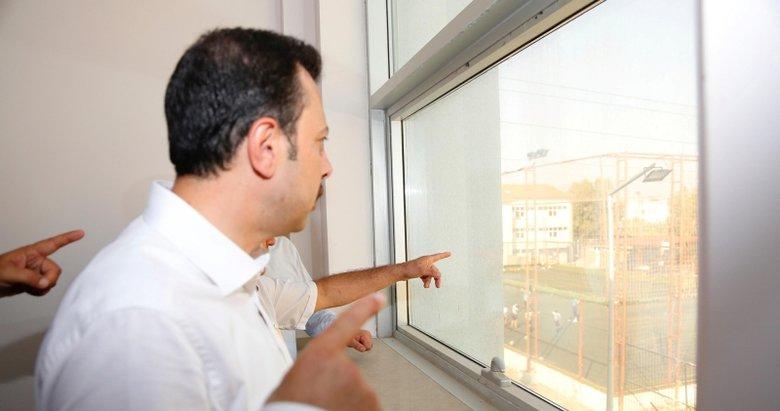 İzmirin en büyük spor kompleksi Karabağlara yapılacak