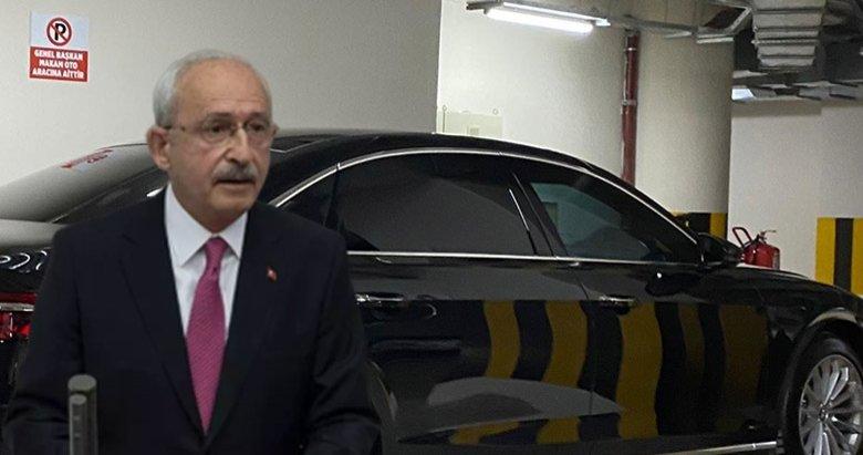 Milyonluk makam aracı gündeme oturdu! Kemal Kılıçdaroğlu ne dediyse tersini yapıyor