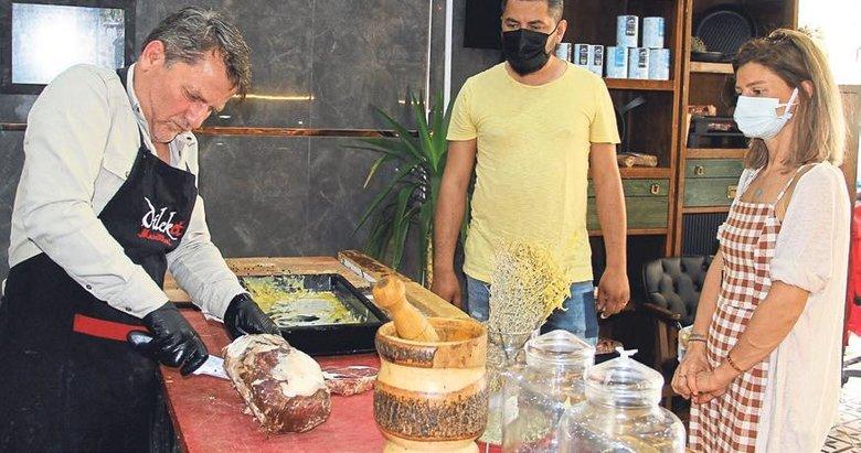 10 bin liralık ete Dubai'den müşteri