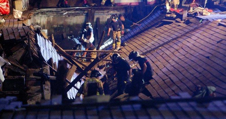 Rap sanatçısı 'Zıplayın' dedi İspanya'da ahşap kaldırım çöktü: 316 yaralı