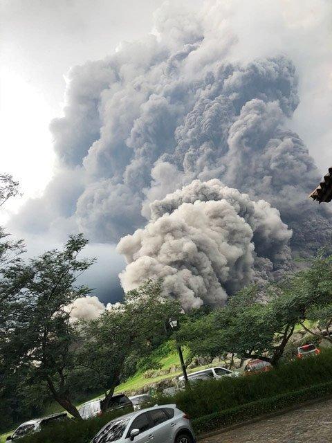 Fuego Yanardağı'nın etrafı haritadan silindi
