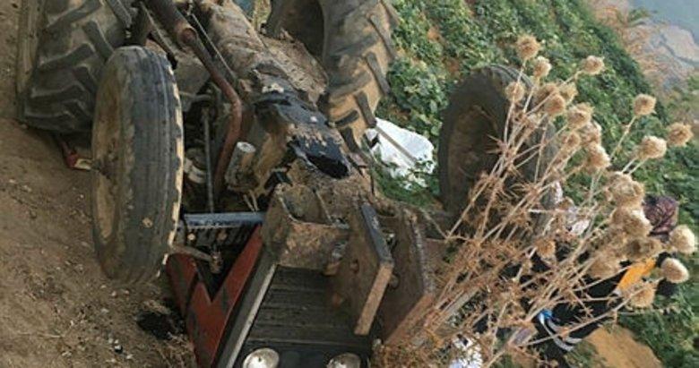 İzmir Ödemiş'te devrilen traktörün altında kalan kişi öldü