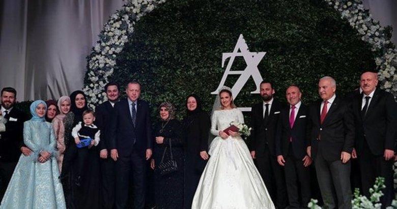Başkan Erdoğan, Ayşe Şahin ve Zafer Topaloğlu'nun nikah törenine katıldı
