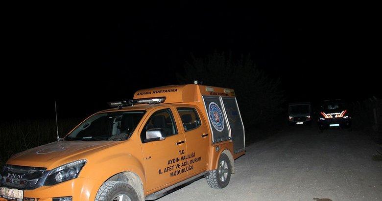 Aydın'da kamyonet kanala uçtu: 2 yaralı