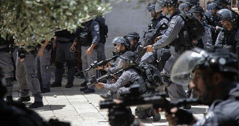 İsrail'den Filistinlilere Harem-i Şerif'in içinde müdahale