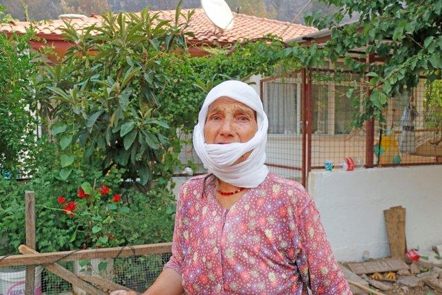 Marmaris'teki yangında zarar görenler yaşadıklarını anlattı