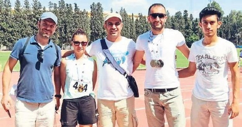 Akhisarlı atletler madalyaya abone