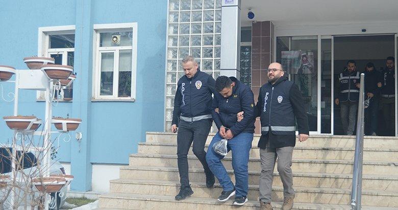 Afyonkarahisar'da evlerden hırsızlık yaptıkları iddiasıyla 3 zanlı yakalandı