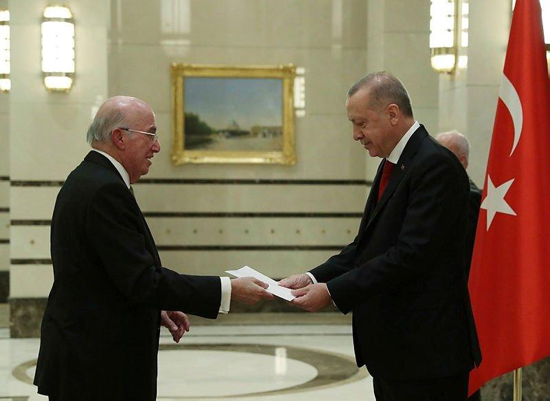 Başkan Recep Tayyip Erdoğan'dan önemli kabul! O detay dikkat çekti