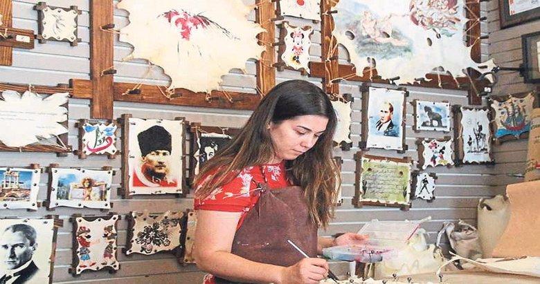 Bergama'nın kültür mirası parşömen