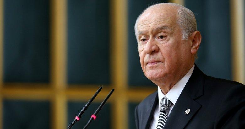 Devlet Bahçeli'den Barış Pınarı Harekatı açıklaması