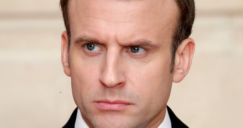 Macron'a Rusya'dan yanıt geldi