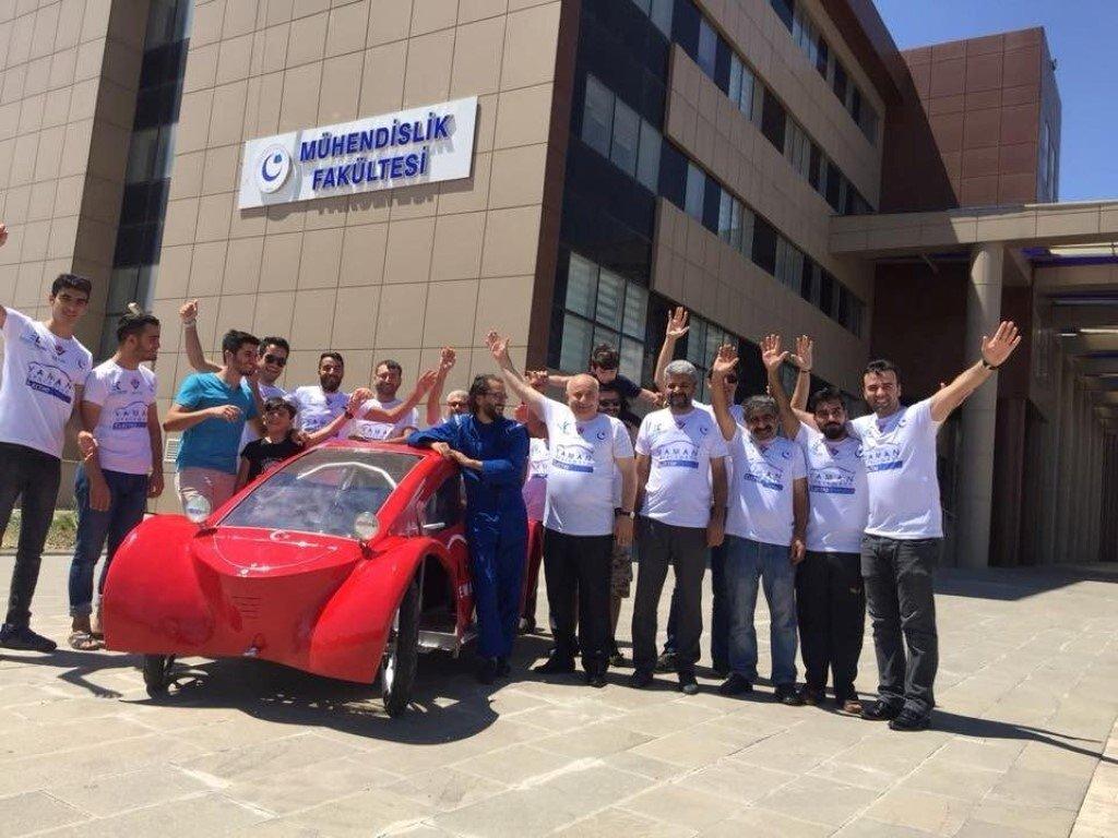 Yaman Spaceways yarışa hazır