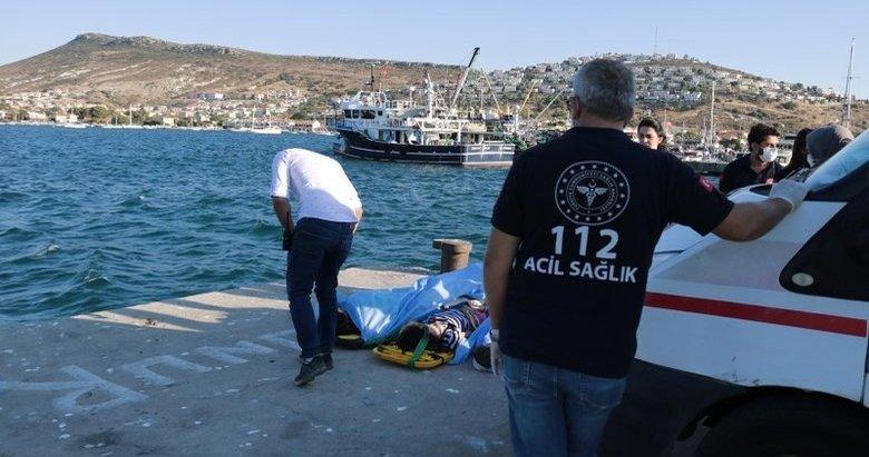 Foça'daki tekne faciasından sağ kurtulan genç, olay anını anlattı: Bir şaka uğruna...